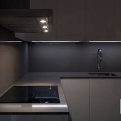 Casa M&R: Cocinas de estilo  de slvr estudio