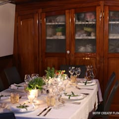 Péniche Savannah sur le Canal du Midi: Cuisine de style de style Colonial par ID SPACE