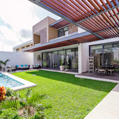 Terrace by Enrique Cabrera Arquitecto, Modern