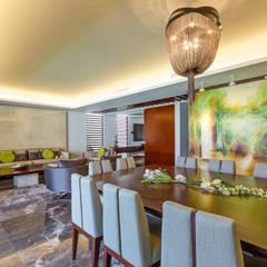 Casa Manantiales: Comedores de estilo moderno por Enrique Cabrera Arquitecto