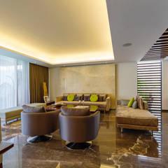 Living room by Enrique Cabrera Arquitecto, Modern