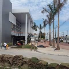Centres commerciaux de style  par Roncato Paisagismo e Comércio de Plantas Ltda