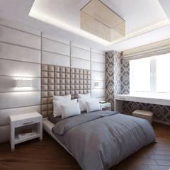 Квартира 70м2. Москва 2014г.: Спальни в . Автор – tim-gabriel,