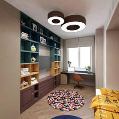 Квартира 70м2. Москва 2014г.: Детские комнаты в . Автор – tim-gabriel,