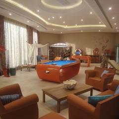 Resort privé: Salon de style de style Tropical par Vincent Bonhomme