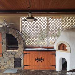 dom: styl , w kategorii Taras zaprojektowany przez DF Interior