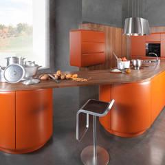"""Designküche """"Onda"""": ausgefallene Küche von Dick Küchen"""