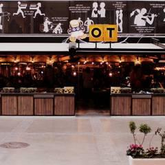 CO Mimarlık Dekorasyon İnşaat ve Dış Tic. Ltd. Şti. – OT Cafe: endüstriyel tarz tarz Evler