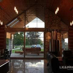 LK&684: styl , w kategorii Taras zaprojektowany przez LK & Projekt Sp. z o.o.