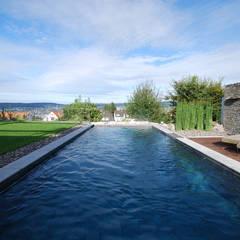 Garten mit Pool:  Pool von Dr. Schmitz-Riol Planungsgesellschaft mbH