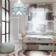 Nursery/kid's room by razoo-architekci