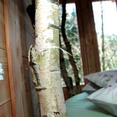 Cabaña Elaia: Hoteles de estilo  de Cabañas en los árboles