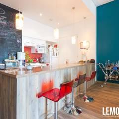 Lago Alberto: Cocinas de estilo  por LEMONBE,