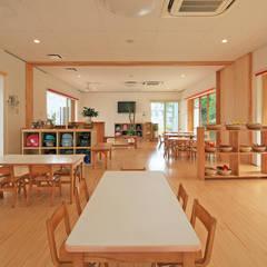 天神の森 きらら保育園: bound-designが手掛けた学校です。