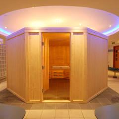 Bespoke Sauna:  Spa by Oceanic Saunas
