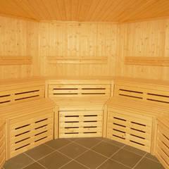 Bespoke Sauna:  Gym by Oceanic Saunas