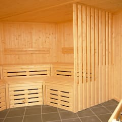 Bespoke Sauna :  Spa by Oceanic Saunas