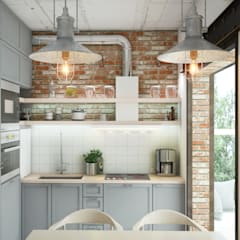 Kitchen by Circle Line Interiors