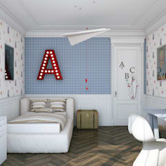 Nursery/kid's room by seven2seven studio, Classic