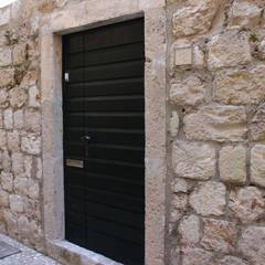 House C, Dubrovnik, Croatia:  Walls by drawing agency ltd