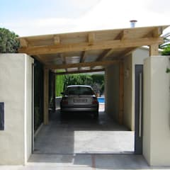 Carport door Incofusta