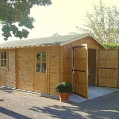 Wooden garages by Quick garden LTD Classic