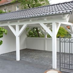 Prefabricated Garage by Ogrodolandia