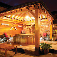 Spa de estilo  por Cedar Hot Tubs UK
