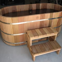 Northern lights Hot Tubs and Saunas:  Spa by Cedar Hot Tubs UK