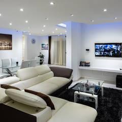 Interior Design: Soggiorno in stile  di Mario Marino