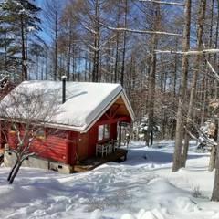 コテージの冬景色: Cottage Style / コテージスタイルが手掛けた家です。