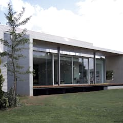 EFH Landmarke:  Terrasse von dürschinger architekten