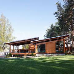 منازل تنفيذ NEWOOD - Современные деревянные дома,