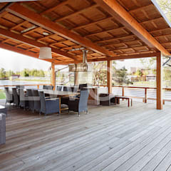 Terrazas de estilo  por NEWOOD - Современные деревянные дома