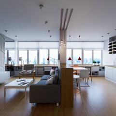 Living room by Kristina Petraitis Design House