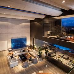 اتاق نشیمن by GLR Arquitectos