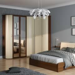 Кровать GRETTA: Спальная комната  в . Автор – ABICS,