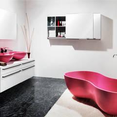 Saturnbath: Saturnbath의  욕실,러스틱 (Rustic)