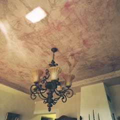 sufit w salonie: styl , w kategorii Salon zaprojektowany przez projektowanie wnętrz