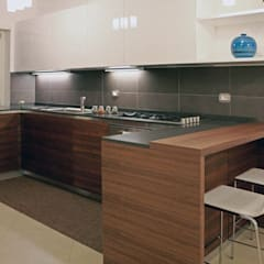 مطبخ تنفيذ AMN studio
