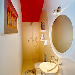 65862e91cc6fb Casa Santiago 49  Baños de estilo por Taller Estilo Arquitectura