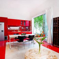 Casa Santiago 49: Comedores de estilo  por Taller Estilo Arquitectura, Moderno
