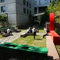성공회대학교 소공원 2015: tohaus/떼오하우스의  정원