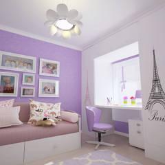 Детская для девочки Детская комнатa в стиле минимализм от mysoul Минимализм