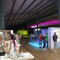 Exhibition:  Event venues by Sebastien Rigaill 3D Visualiser