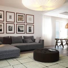 Living room by Beniamino Faliti Architetto, Modern