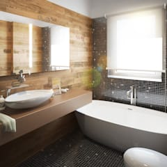 Bathroom by Beniamino Faliti Architetto