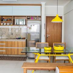 Apartamento Sgrillo Cozinhas rústicas por Bruno Sgrillo Arquitetura Rústico