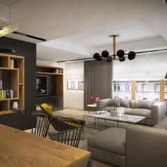 yücel partners – D&S Altaş Home:  tarz Oturma Odası,