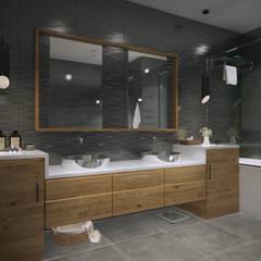 yücel partners – D&S Altaş Home: modern tarz Banyo